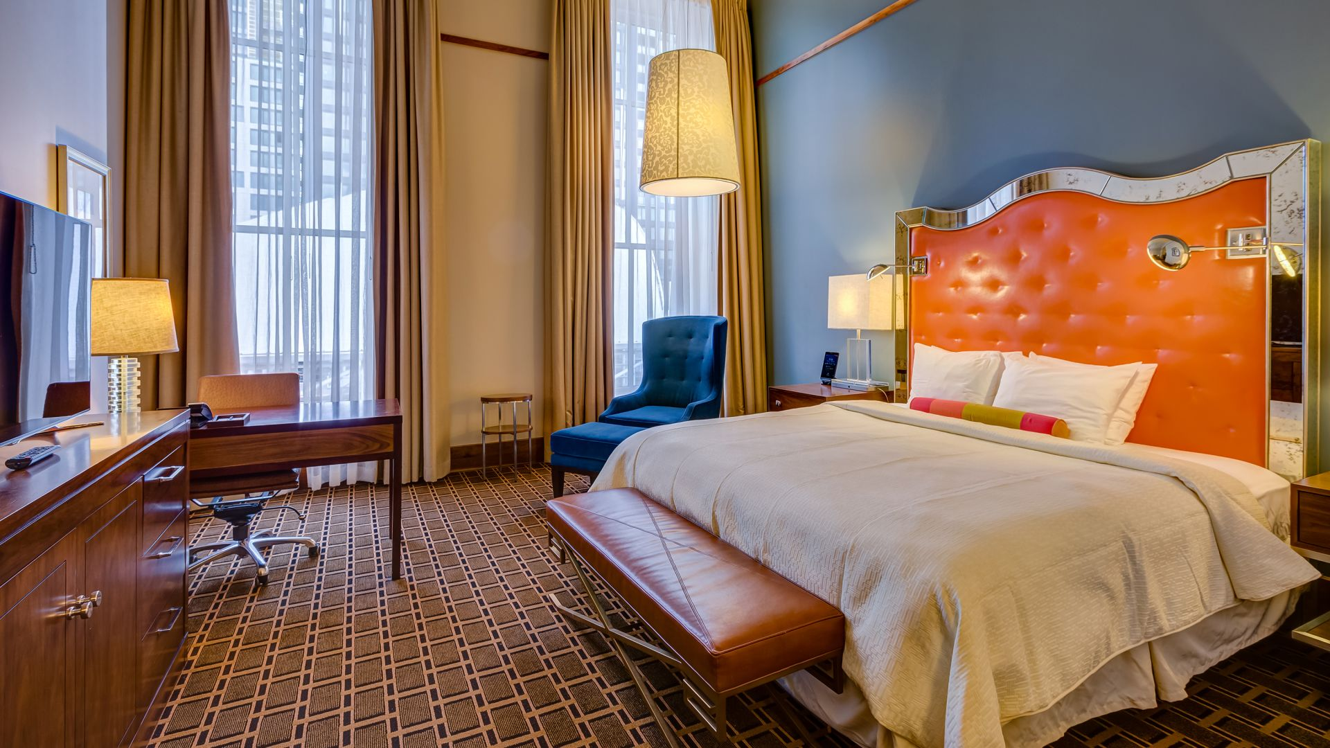 Classic Themed Hotel Rooms In Denver The Crawford Hotel